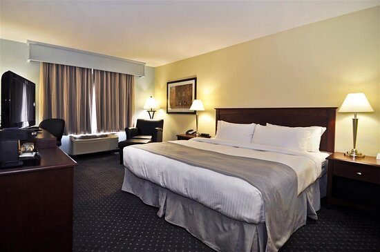 Business King Bed Guest Room