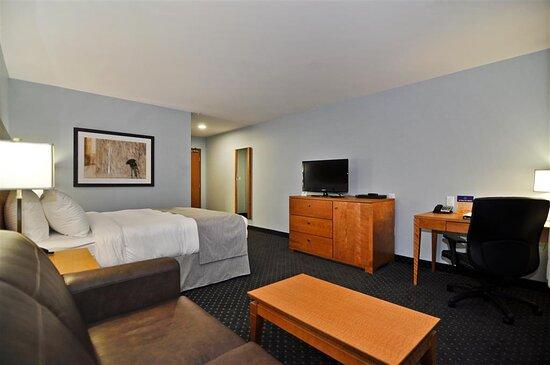 One Queen Bed Guest Room