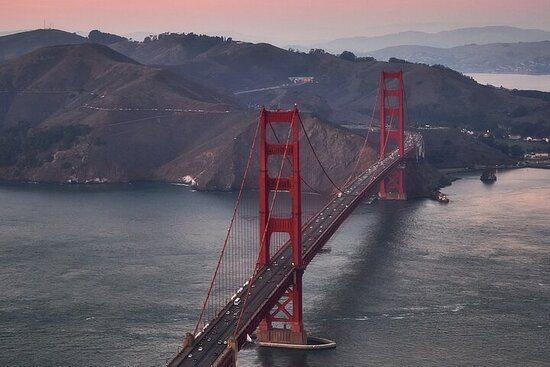 Visite aérienne de la baie de San Francisco