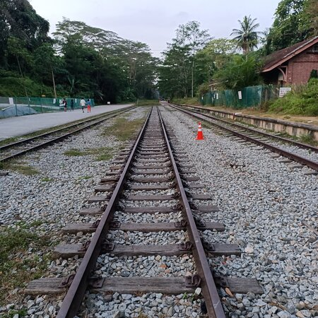 Green Corridor, Old KTM Railway