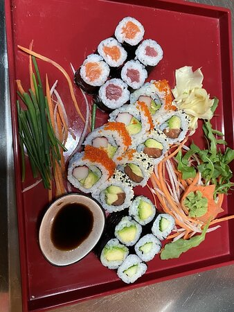 Geretsried, Jerman: Sushi