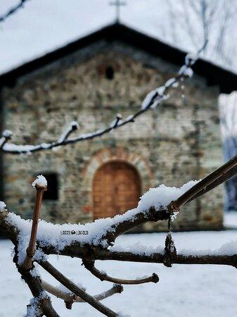 Una passeggiata nel verde, tra Grosso e Nole e trovi la Chiesa Romanica di San Ferreolo.