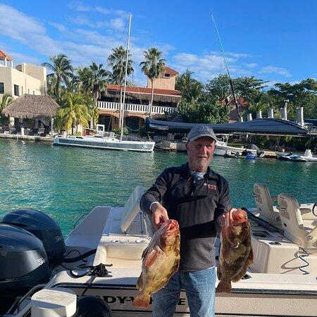Puerto Aventuras, Mexico: Experiencia de pesca deportiva