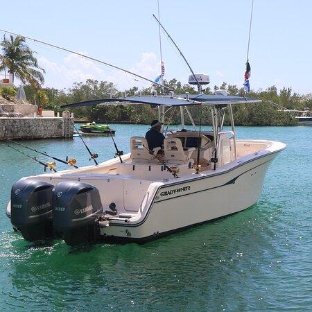 Puerto Aventuras, Mexico: Listos para salir de pesca