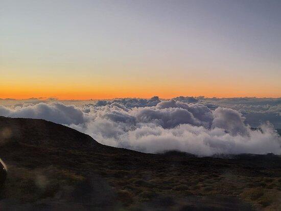 Haleakala National Park, HI: 13.8 miles hiking Sliding Sands trail
