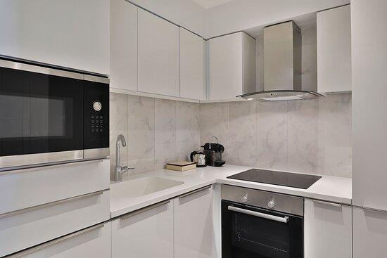 Three Bedroom Apartment - Kitchenette