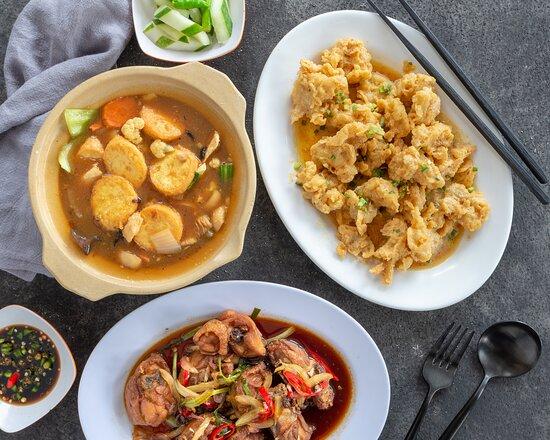 Sapo Tahu Dori Telur Asin Ayam Saos Inggris Foto Van Uncle W Chinese Food Halal Surabaya Tripadvisor