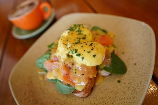 Eggs Benny with Salmon