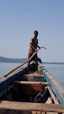 Guinea: En route pour les îles de Kassa