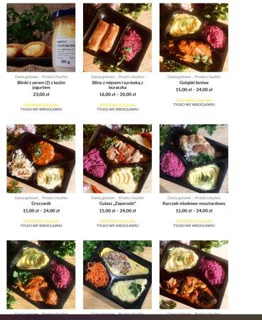 Wybierz z naszego menu potrawę na dziś, a my dowieziemy pyszne jedzonko pod Twoje drzwi :)