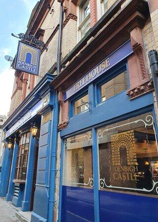 The Denbigh Castle Pub in Liverpool Commercial District