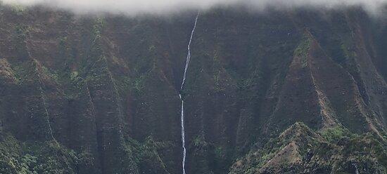 Lihue, HI: Amazing waterfalls...everywhere!
