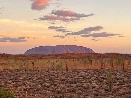 Uluru Small-Group Tour by Camel at Sunrise or Sunset Photo