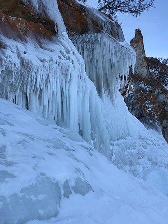 Путешествие по зимнему Байкалу.