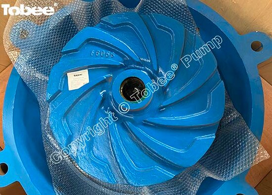 China: Tobee 8/6 EAH heavy duty Hyperchrome alloy slurry pump spares are getting ready for their new home Australia which install on the pump at an iron ore mine. Email: Sales7@tobeepump.com Web: www.tobeepump.com   www.slurrypumpsupply.com   www.tobee.cc   www.hydroman.cn