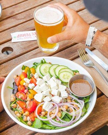 Our Mediterranean Salad is gluten-free!