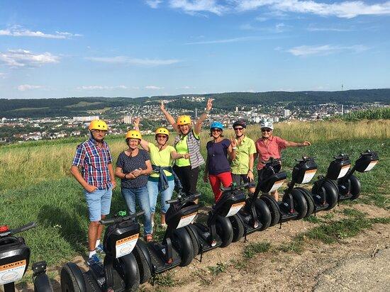 Weil am Rhein, Alemania: Unsere reell-event.de Segway-Touren... bei strahlendem Wetter
