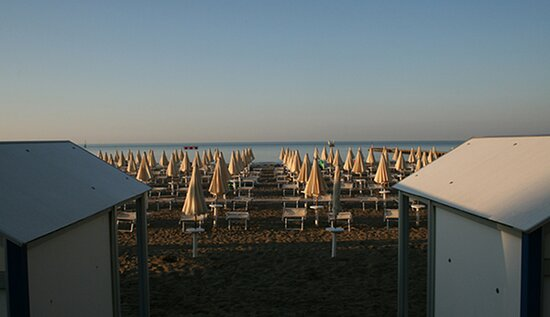 Hotel Diana di Grado - The beach is only a few metres away from our Hotel.