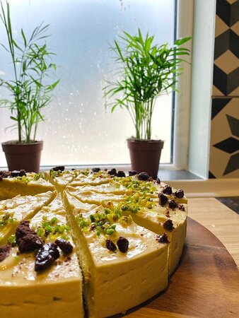 Homemade Italian cake