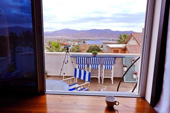 studio with panoramic sea view
