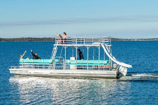 Pontoon Boat rental at Laguna's