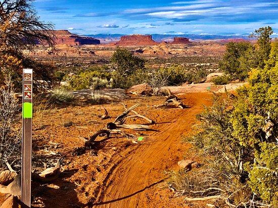 Monitor and Merrimac Buttes • Moab Utah • Hazard County Shuttle