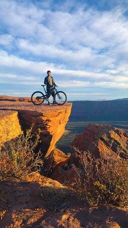 Whole Enchilada Lower Section •  LPS • STAY FRESH FOR TOMORROW • Moab Utah • Hazard County Shuttle