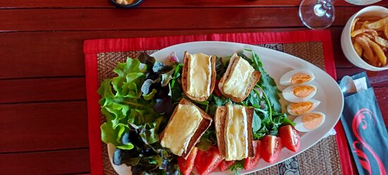 Burger au Fromage de Brie et Raclette, Salade de Brie New French Kiss