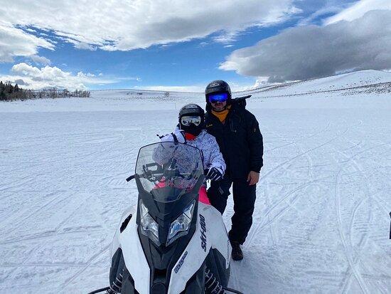 Snowmobile Adventure Tour-billede