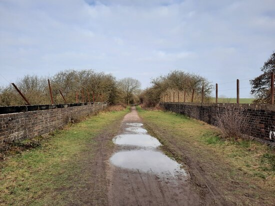 Kelmarsh To Oxendon Rail Walk