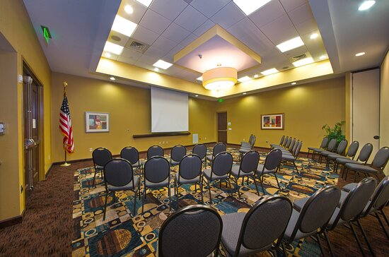 Our flexible meeting space can host small & large groups.