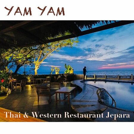 YAM YAM Restaurant Jepara is Open Everyday!!!!!! Full service Nonstop. Special info from the 9th-22nd of march 2021 the Open hours will be from 8:00-21:00 ( last order 20:15, last order for take away until 20:45)  See you... Kiss (from faraway) All staff YAM YAM 😘