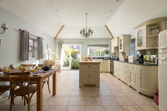 Kitchen in the Dovecote