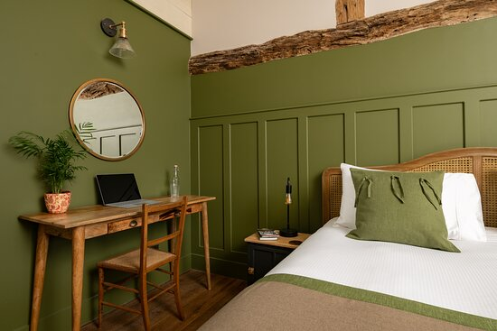 One of 4 Super-king bedrooms in the Grand Barn