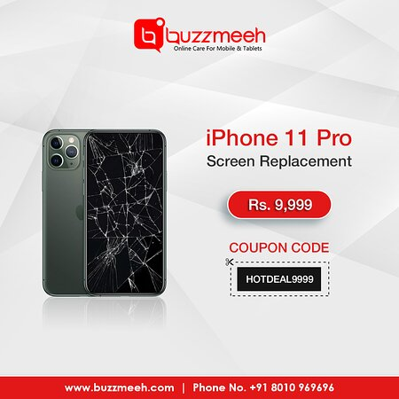 Índia: iPhone 11 Pro Screen Replacement At 9999/- only