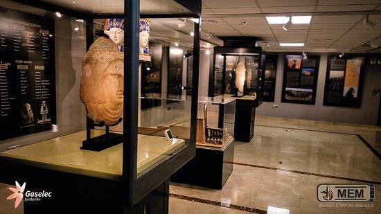 Segunda planta, máscaras de sarcófagos de la época greco-romana