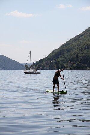 Excursion Lugano SUP