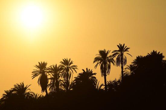 5-Day Sail from Luxor to Aswan: Nil Kreuzfahrt Sonnenuntergang