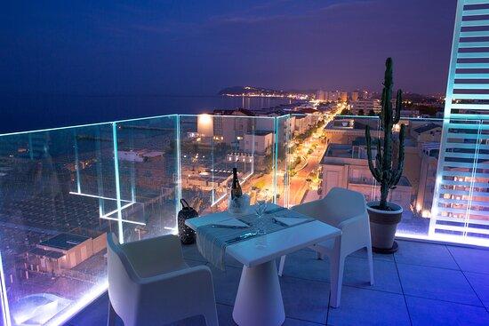 Misano Adriatico, Italy: vista hotel