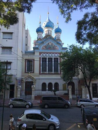 Iglesia Ortodoxa enfrente