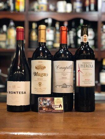 Algunos de nuestros Rioja.