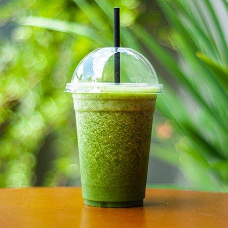 Nosso suco Verde Detox para consumir no local ou levar! Você pode ainda ir saboreando essa opção super saudável durante sua caminhada ou pedal em Joaquim Egídio.
