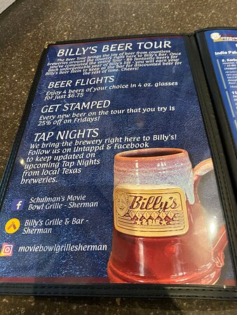 Beer tour rules and awards