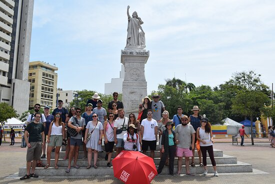 Beyond Colombia Free Walking Tour Cartagena