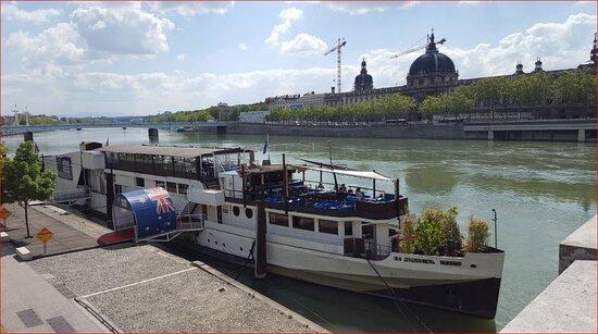 Memories ... Le Rhone, from Pont Wilson. Lyon.