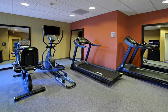 Fitness Center, close to nature trails for biking and running