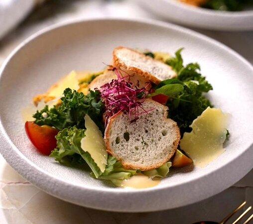 Young Romaine Caesar Salad
