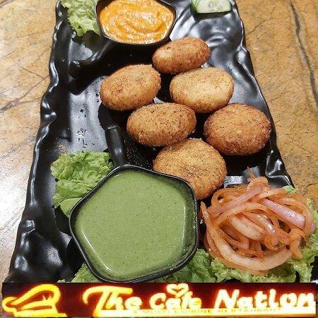 Bijnor, India: Dahi ke kabab