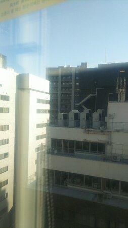 客室からの眺望。芝パークホテルやオフィスビル。