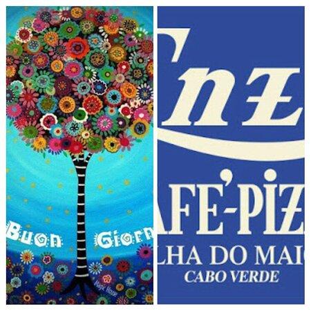 Vila do Maio, כף ורדה: Enzo Caffe Pizza